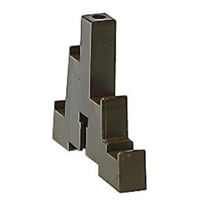 Support isolant tétrapolaire pour armoires Altis - 1 barre cuivre 12x2mm ou 12x4mm par pôle jusqu'à 280A - Jeu de 2 LEGRAND