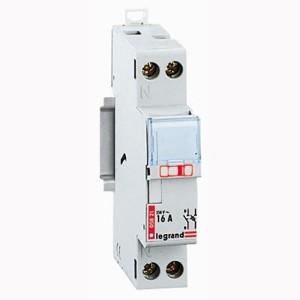 Coupe-circuit 1P+N pour cartouche cylindrique domestique 16A LEGRAND