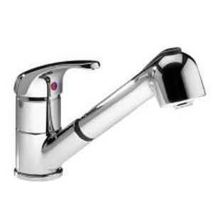 Mitigeur mono-commande d'évier avec douchette coulissante - EKA CLAGE