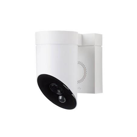 Caméra de surveillance extérieure - Blanche SOMFY