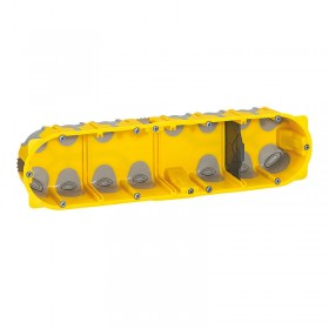 Boîte multipostes Ecobatibox 4 postes 8 à 10 modules - profondeur 40mm LEGRAND