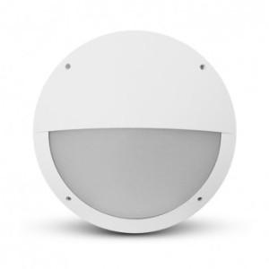 Plafonnier LED hublot Ø300 18W 1700LM 4000K IP65 asymétrique blanc VISION EL