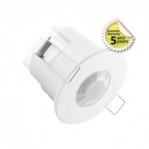 Détecteur de mouvement IR LED encastrable 360° 600W BBC VISION EL