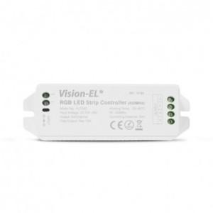 Controleur LED RGB 12V/24V avec télécommande 20M RF VISION EL