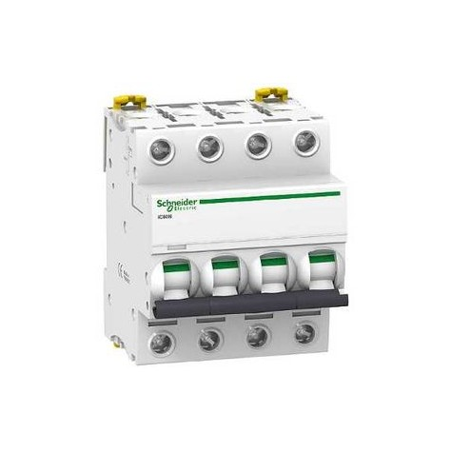 Disjoncteur iC60N 20A 4 pôles courbe C - Acti 9 SCHNEIDER