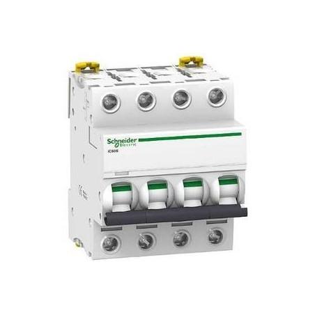 Disjoncteur 4P - 32A - courbe C - Acti 9 iC60N SCHNEIDER