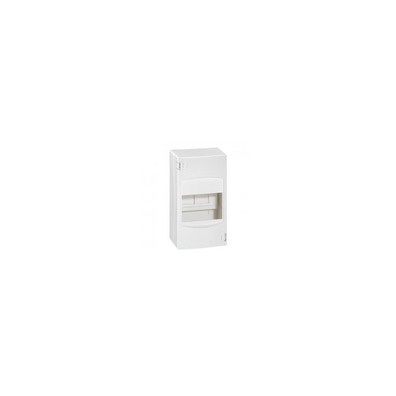 Coffret cache-bornes 4 modules - blanc RAL 9010 LEGRAND