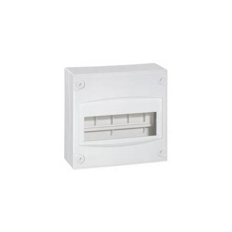 Coffret cache-bornes mini 8 à 9 modules - blanc RAL 9010 LEGRAND