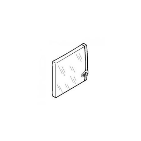Porte coffret capacité mini 8 à 9 modules - Transparente LEGRAND