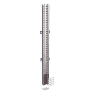 Jeu de barres isolées 160 A 3P - L 1000 mm (Powerclip) - Linergy BW SCHNEIDER