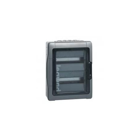Coffret PLEXO 3 - 12 modules 2 rangées - IP65 IK09 - Gris LEGRAND