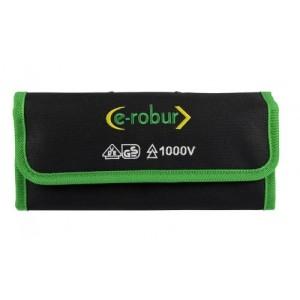 Trousse tournevis lame interchangeable isolé 1000V E-ROBUR