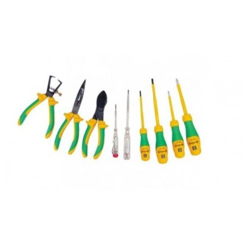 Coffret de 9 outils - isolés 1000V E-ROBUR