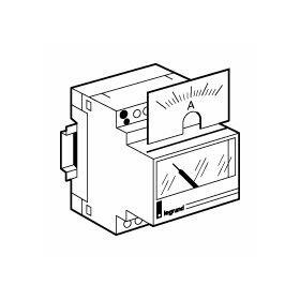 Cadran de mesure analogique pour ampèremètre ref.004600 - 0A à 50A LEGRAND