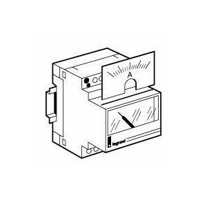 Cadran de mesure analogique pour ampèremètre ref.004600 - 0A à 200A LEGRAND