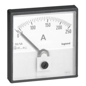 Ampèremètre analogique à fût rond Ø56mm à équiper d'un cadran de mesure LEGRAND