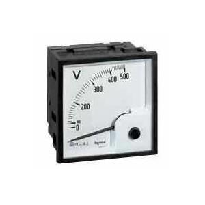 Ampèremètre analogique à fût carré 68x68mm à équiper d'un cadran de mesure LEGRAND