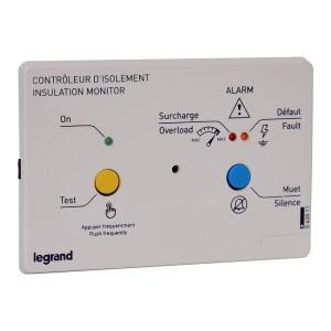 Boîtier de report CPI médical pour installation encastrée 230V ou 24V~ - 3 modules LEGRAND