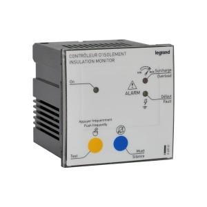 Boîtier de report CPI médical pour montage sur porte 230V ou 24V~ - 72x72mm LEGRAND