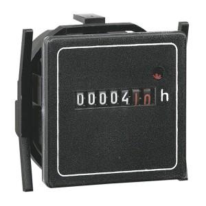 Compteur horaire totalisateur 200V~ à 240V~ - 50Hz - 48x48mm LEGRAND