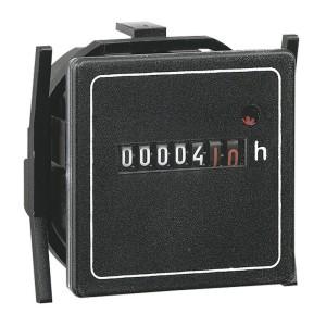 Compteur horaire totalisateur 48V~ - 50Hz - 48x48mm LEGRAND