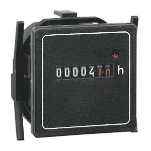 Compteur horaire totalisateur 400V~ - 50Hz - 48x48mm LEGRAND