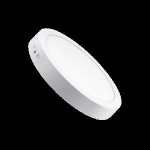 Plafonnier LED rond blanc 20W 4000°K DÜNYA LED