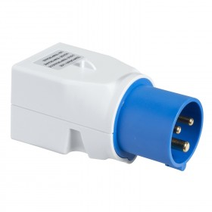 Adaptateur brochage industriel-domestique - 16 A 2P+T - 220V - PRATIKA SCHNEIDER