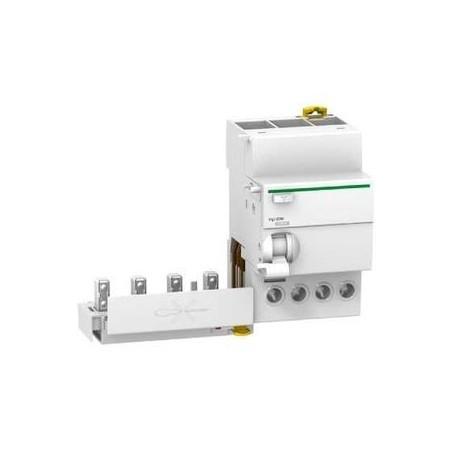 Bloc différentiel Vigi iC60 - 4P - 63A - 300mA sélectif - Type A SI SCHNEIDER