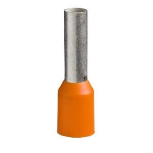 Embout de câble taille moyen 4 mm² orange NF LINERGY DZ5 SCHNEIDER