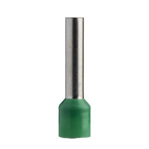 Embout de câble taille long 6 mm² vert NF LINERGY DZ5 SCHNEIDER