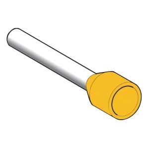 Embout de câble taille long 6 mm² jaune DIN LINERGY DZ5 SCHNEIDER