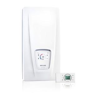 Chauffe-eau instantané électrique 18, 21, 24 ou 27 kW réglable - DSX Touch CLAGE