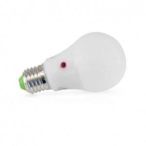 Ampoule LED E27 10W bulb 6000K détecteur crépusculaire VISION EL