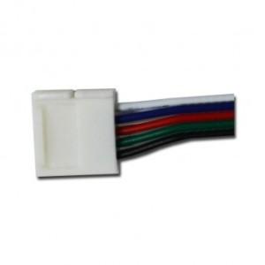 Câble connecteur rapide RGBW pour bandeaux LED 10mm VISION EL
