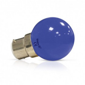 Ampoule LED B22 bleu bulb 1W VISION EL