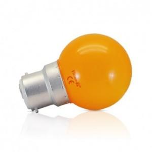 Ampoule LED B22 orange bulb 1W VISION EL