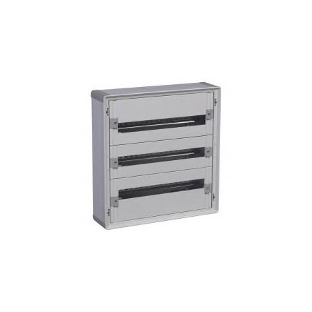 Coffret XL³160 tout modulaire - 3 rangées - 72 modules - isolant LEGRAND