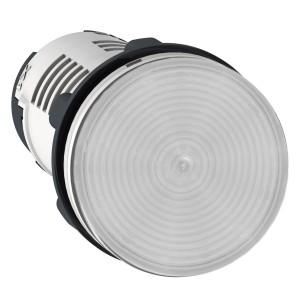 Voyant rond Ø22 incolore LED intégrée - 230V - Harmony XB7 SCHNEIDER