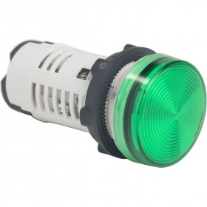 Voyant rond Ø22 vert LED intégrée 120V24V - Harmony XB7 SCHNEIDER