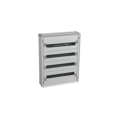 Coffret XL³160 tout modulaire - 4 rangées - 96 modules - isolant LEGRAND