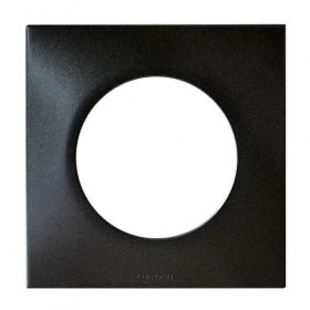 Plaque simple SQUARE anthracite EUR'OHM