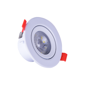 Spot LED orientable 6W 4000°K DÜNYA LED