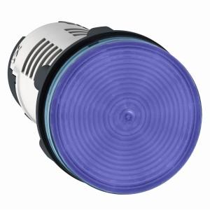 Voyant rond Ø22 bleu LED intégrée 24V - Harmony XB7 SCHNEIDER
