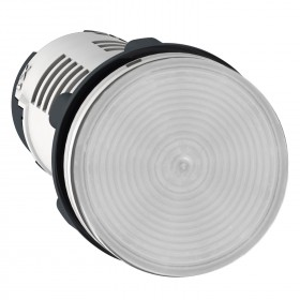 Voyant rond Ø22 incolore LED intégrée 120V- Harmony XB7 SCHNEIDER
