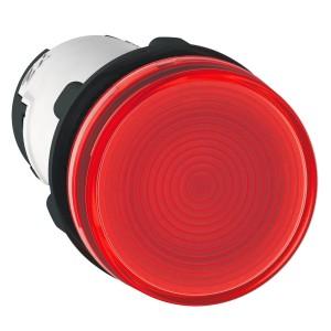 Voyant rond Ø22 rouge - BA 9s base - inf. 250V - Harmony XB7 SCHNEIDER