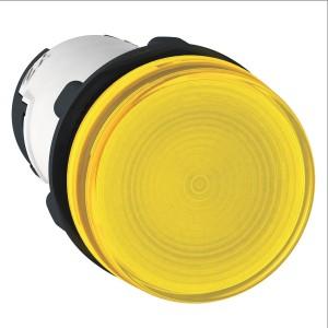 Voyant rond Ø22 jaune - BA 9s base - inf. 250V - Harmony XB7 SCHNEIDER