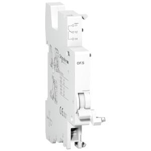 Contact auxiliaire de signalisation OF.S - 1NO/NF - 1 pas de 9 mm SCHNEIDER