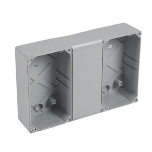 Gaine multifonction horizontale pour coffrets étanches Plexo³ 12 modules LEGRAND