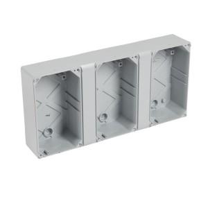 Gaine multifonction horizontale pour coffrets étanches Plexo³ 18 modules LEGRAND